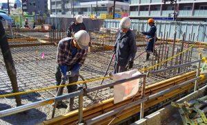工事施工中 小田原マンション新築工事 004-2