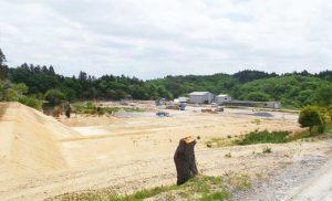 工事施工開始 ㈱アーク花泉第2農場 A棟工事 002