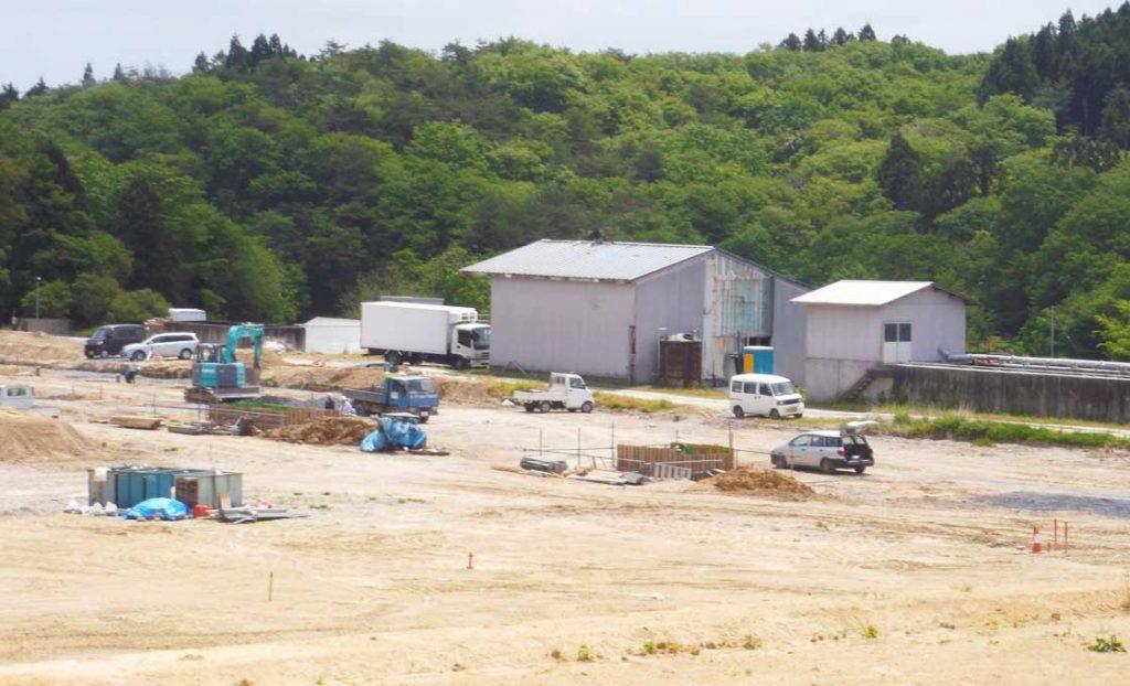 工事施工開始 ㈱アーク花泉第2農場 A棟工事 001