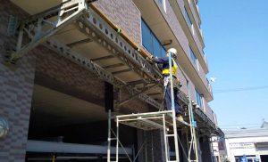 工事施工開始-ナイスブライトピア高砂--007