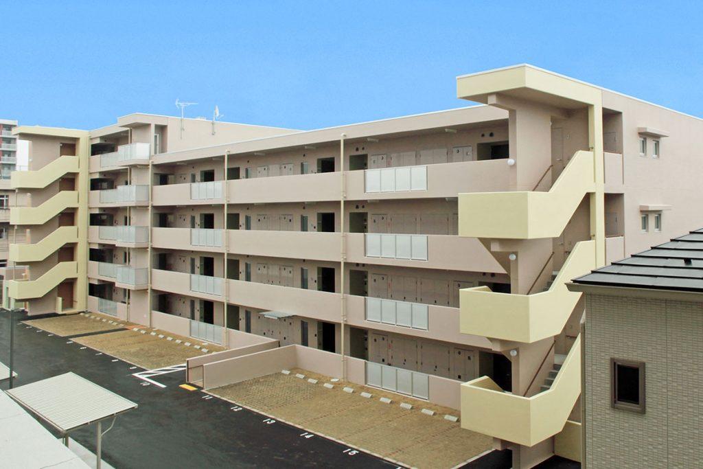 施行実績 建築工事 10 仙台市幸町第三復興 公営住宅新築工事 001