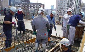 工事施工中-小田原マンション新築工事--002