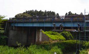工事施工開始 相双地区橋梁補修工事(折木橋) 002