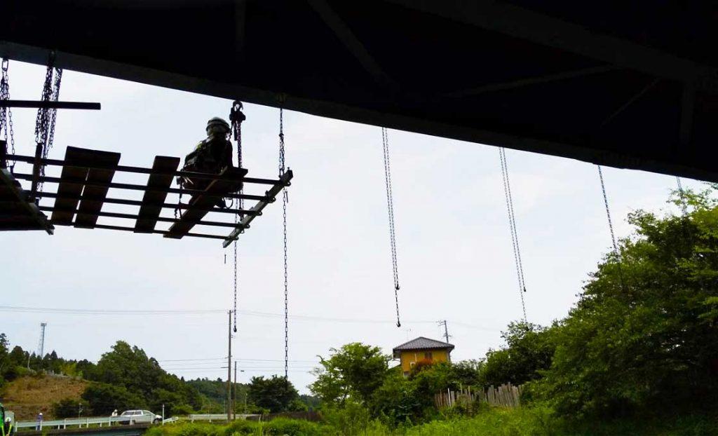 工事施工開始 相双地区橋梁補修工事(折木橋) 001