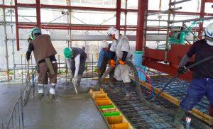 工事施工中-今野畜産店舗併用食肉加工工場新築工事--003