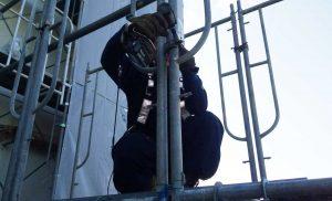 工事施工中-西多賀病院大規模修繕工事--002