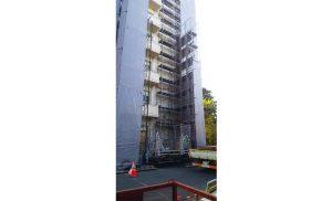 工事施工中-西多賀病院大規模修繕工事--005