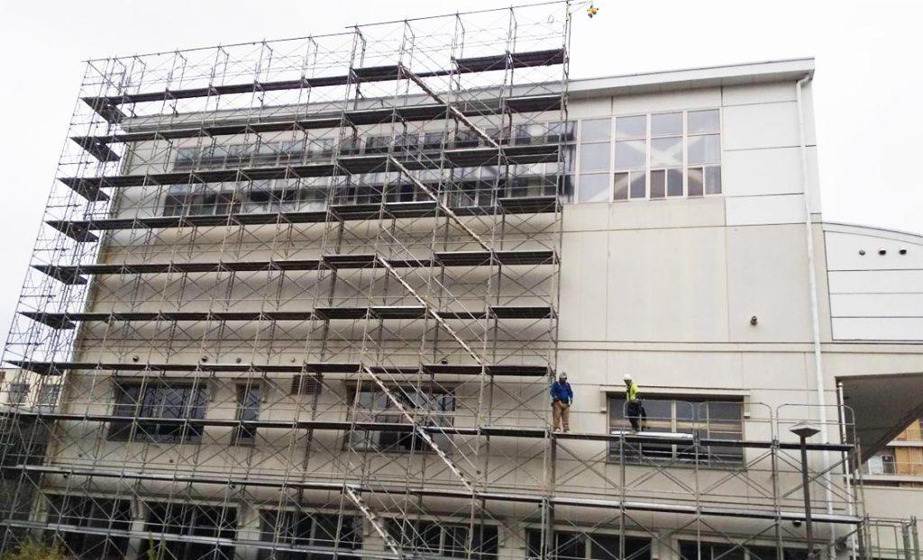 工事施工開始-幸町市民センター改修工事--001