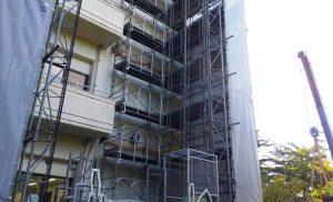 工事施工中-西多賀病院大規模修繕工事--006