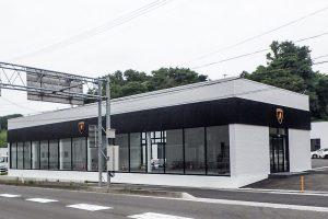 施行実績 建築工事 21 タジマモーター仙台ショー ルーム新築工事 001