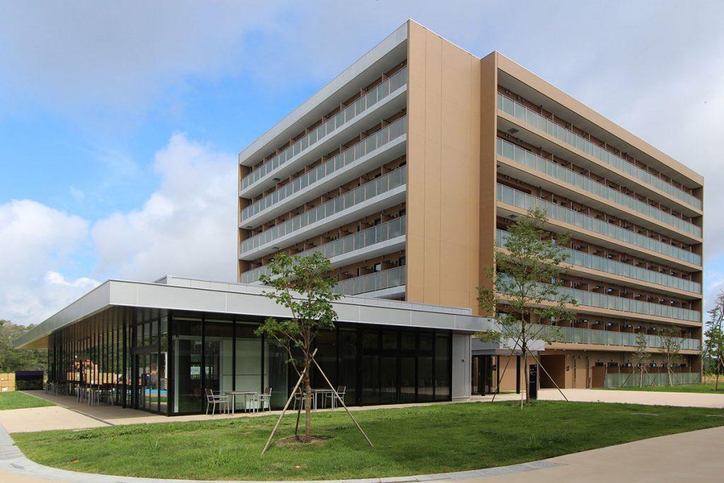 施行実績 建築工事 20 東北大学(青葉山3) ユニバーシティハウス等 設備事業6号棟新築工事 001