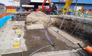 工事施工開始 東邦運輸倉庫㈱6号倉庫新築工事 001
