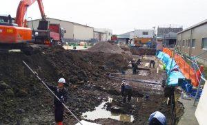 工事施工開始 東邦運輸倉庫㈱6号倉庫新築工事 003