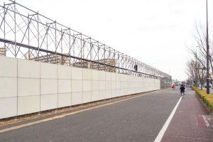 施行実績 建築工事 24 キュリオス足場組立 001